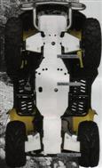 TWO PIECE MAIN SKID PLATE SET  KingQuad 700 750 2005-11