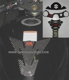 CARBON FIBER PROTECTORS GSXR600 GSXR750 2006-21