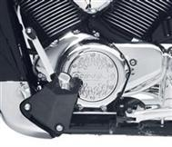 Billet Engine Cover - M109R Logo, Flames