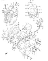 CRANKCASE COVER AN400 2003-06