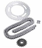 STANDARD REPLACEMENT DRIVE CHAIN AND SPROCKET SETS OEM