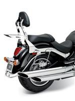 C109 Saddlebag Supports