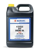 Suzuki 4-Cycle ATV Engine Oil, 1 Gallon