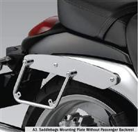 SADDLEBAG SUPPORTS OR MOUNTING PLATE FOR LEATHER SADDLEBAGS M90 2009-19 BOULEVARD