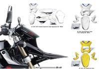 SUPER MOTO APPEARANCE KIT DRZ400SM 2006-16