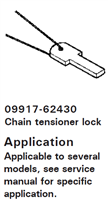 CHAIN TENSIONER LOCK