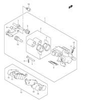 REAR CALIPER PARTS M109R 2006-19