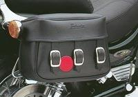 Rigid Mount Saddlebags - Plain VS800 VS1400  --CLOSEOUT--