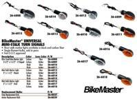 BIKE MASTER UNIVERSAL MINI STALK TURN SIGNALS