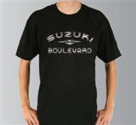 SUZUKI BOULEVARD CHROME LOGO TEE SHIRT