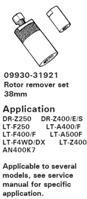 ROTOR REMOVER SET 38MM LTA400 LTF250 LTA500