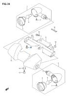TURN SIGNAL FRONT C90/T BOSS 2013-18