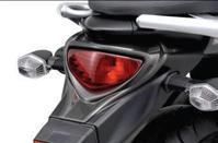 Carbon Look Tail Light Cover SFV650 GALDIUS 2009-16