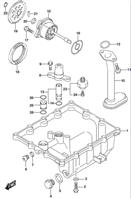 OIL PAN GSX-S750 2015-16