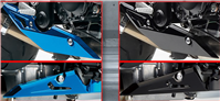 UNDER COWLING EXHAUST TRIM GSX-S750 2015-16