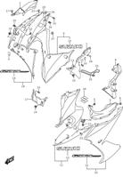SIDE COWLING GSX-S 1000F 2016-18