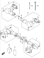 TURN SIGNAL GSX-S1000 2016-18