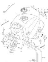 FUEL TANK GSX-S1000 2016-18