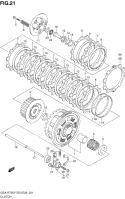 CLUTCH GSXR750 2000-03