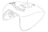 FUEL TANK C90/T BOSS 2013-18