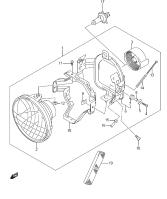 HEADLAMP C90/T 2013-18