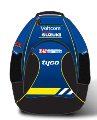 SUZUKI GSX-R VOLTCOM TYCO CRESCENT TEAM RACING BACKPACK