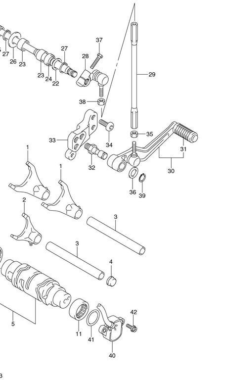 Gear Shifter Gsxr600