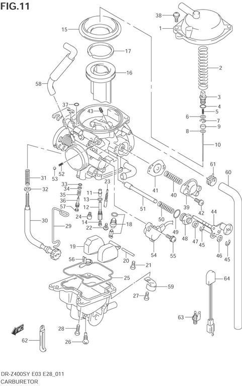 carburetor parts drz400s rh oneidasuzuki com Suzuki DRZ 400 History Suzuki Dual Sport Motorcycles