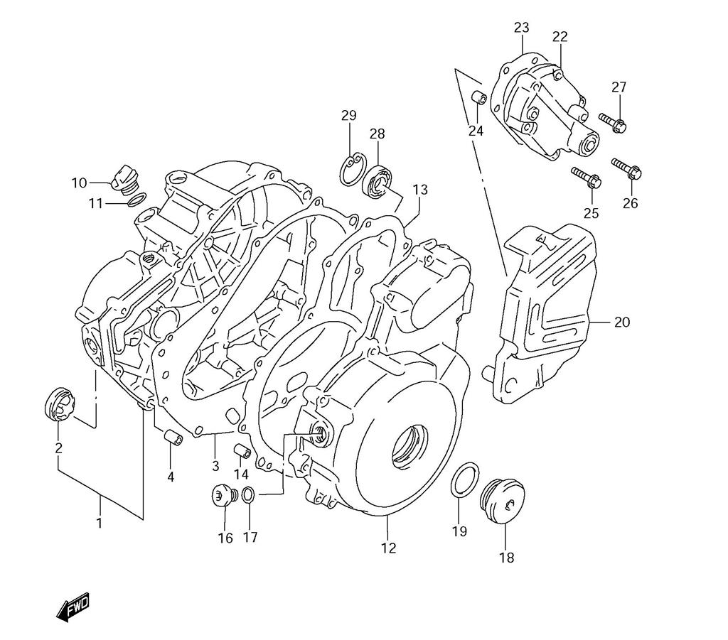 DR650 OEM REPLACEMENT PARTS