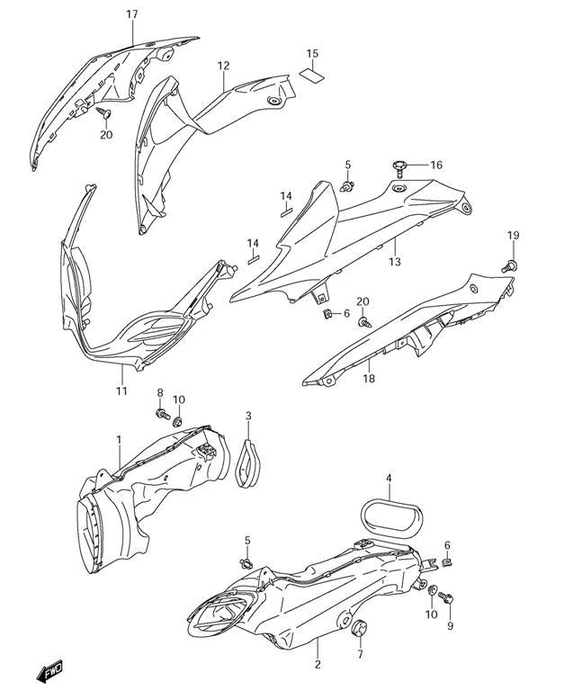 H HILABEE Schraubkappe Gummi Deckel f/ür Suzuki Hayabusa 1999-2014