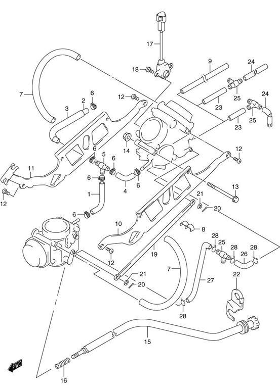 Honda Cv Carburetor Diagram