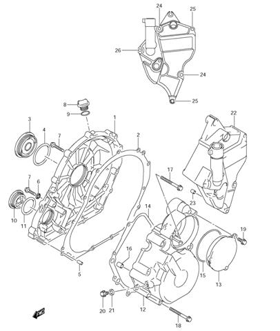 2001 Gsxr Engine Diagram