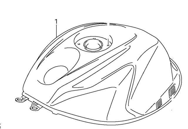 Fuel Tank Gsxr600 2011 19