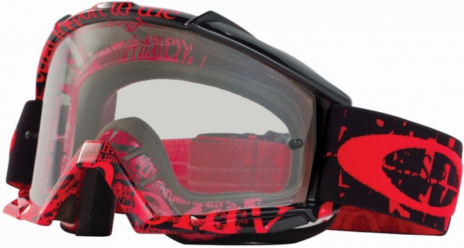 red and black oakleys  Oakley Proven MX Tagline...
