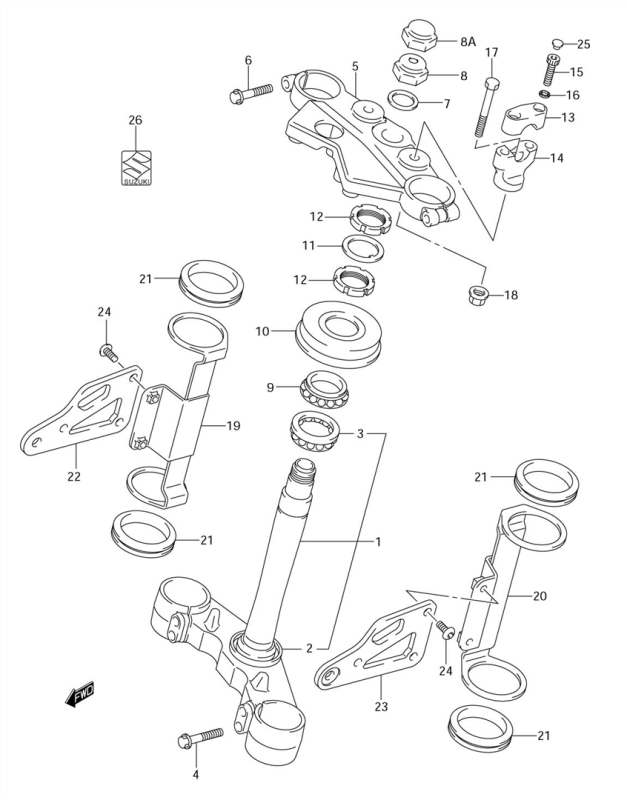 Steering Stem And Related
