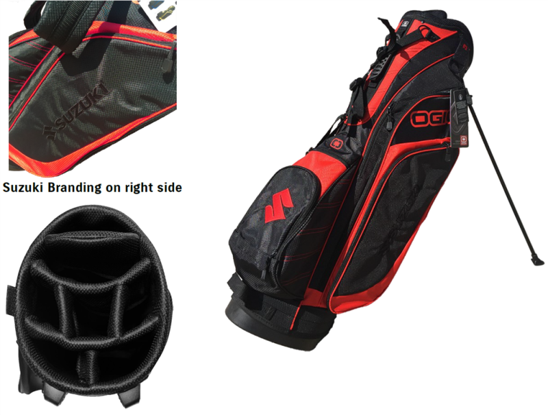 Suzuki Ogio Golf Bag Limited Edition View Detailed Images 2